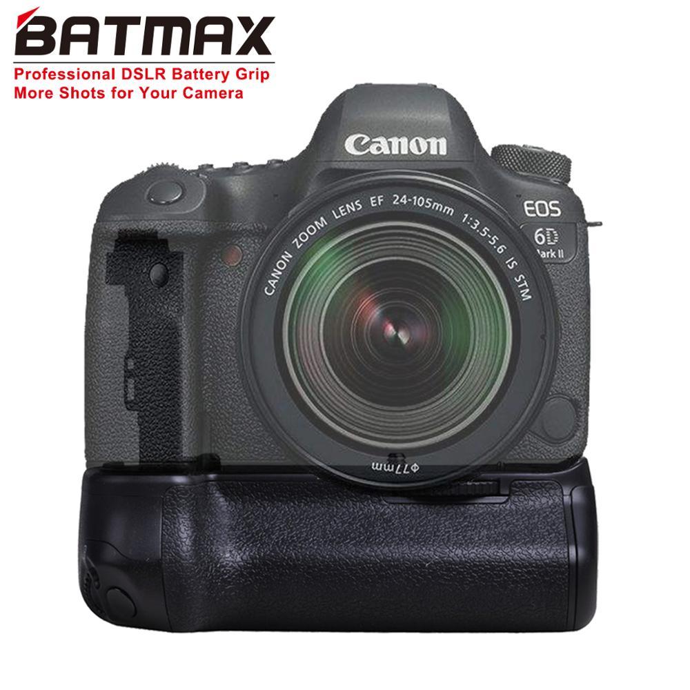 Batmax BG-E21 Batterie support de prise en main pour Canon 6D Mark II 6D2 DSLR Caméra avec LP-E6/LP-E6N batterie