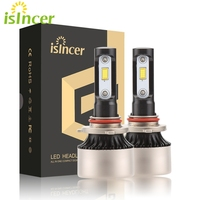 Car Styling Car Headlight H4 LED Bulbs High Low Beam 80W 8000LM 6000K Auto Canbus No