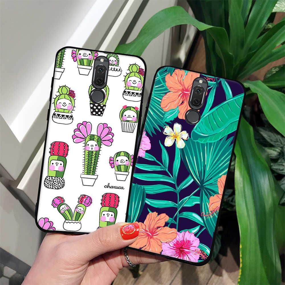 Soft TPU Case For Huawei P20 Mate 10 Lite P20 Pro P10 P9 P8 Lite 2017 For Honor 9 8 Lite Nova 3e 2i Cover Phone Fundas Coque
