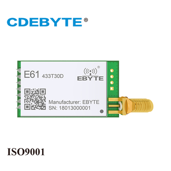 E61-433T30D 433mhz 1W SMA IoT uhf Wireless Transceiver CDEBYTE 30dBm Transmitter and Receiver rf Module zigbee cc2531 case 4dbm wireless transceiver e18 2g4u04b usb connector io port iot pcb 2 4ghz transmitter and receiver