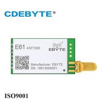 Transmisor y receptor inalámbrico E61 433T30D 433mhz 1W SMA IoT uhf, CDEBYTE 30dBm, módulo de radiofrecuencia