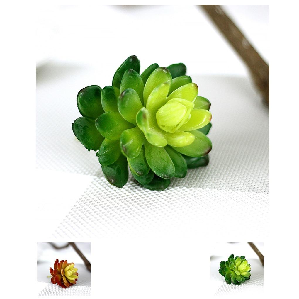 ᗑLoto plantas de cactus suculentas artificiales para oficina inicio ...