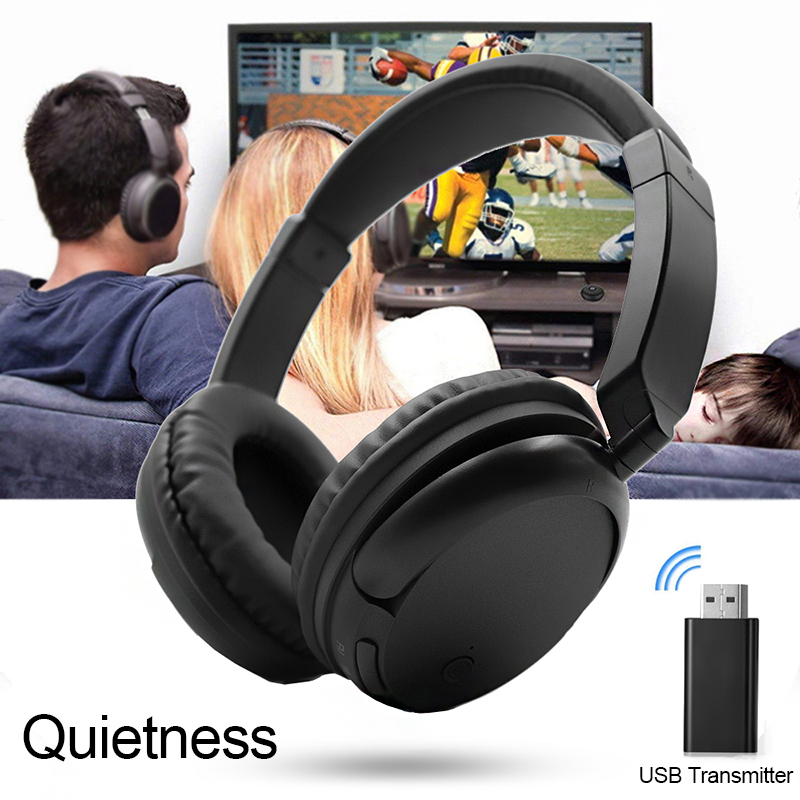 <font><b>Wireless</b></font> Multi-Punkt TV <font><b>Computer</b></font> Spiel Tablet Radio Freqency RF <font><b>USB</b></font> Transmitter Musik Headset Sound Stereo Kopfhörer Ohrhörer image