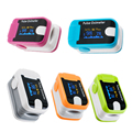 New Color OLED Fingertip Pulse Oximeter With Audio Alarm & Pulse Sound - Spo2 Monitor Finger Puls Oximeter