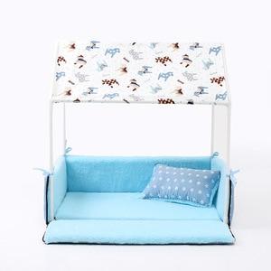 Image 5 - Lit lavable pour chiens et chats, tente, niche pour chiots et chats, maison confortable, amovible, produits ménagers