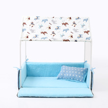 Beautiful, Tent-Inspired Yorkie House bed (several designs available)