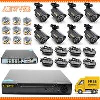 5MP AHD камера с 8CH AHD DVR 5MP система видеонаблюдения Бесплатная доставка