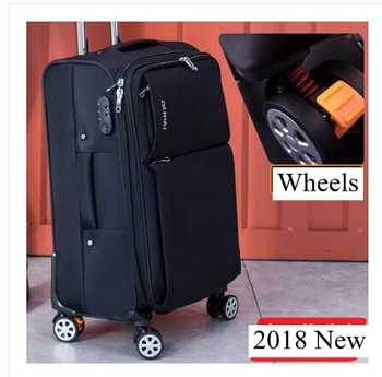 Oxford Spinner suitcases Travel Luggage Suitcase Men Travel Rolling luggage bags On Wheels Travel Wheeled Suitcase trolley bags