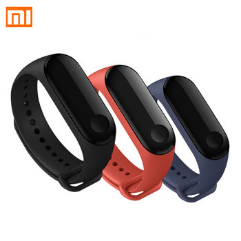 Original Xiaomi Mi Band 3 Smart Wristband Fitness Bracelet MiBand Band 3 Big Touch Screen OLED Message Heart Rate Time Smartband magnetic attraction bluetooth earphone headset waterproof sports 4.2