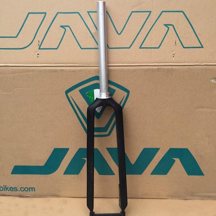 Black JAVA 3K Carbon&Aluminium Fork Rigid Fork Disc Brake For 26 27.5 MTB Straight Forks 1 1/8 28.6mm Bike rear wheel hub for mazda 3 bk 2003 2008 bbm2 26 15xa bbm2 26 15xb bp4k 26 15xa bp4k 26 15xb bp4k 26 15xc bp4k 26 15xd
