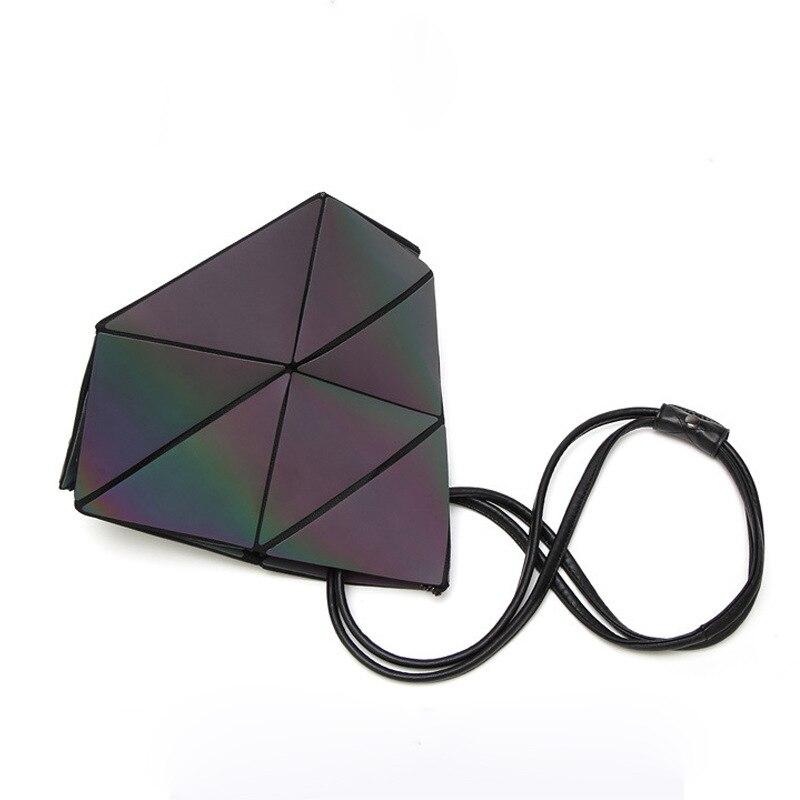 Borsoni Del Di Multi Lusso Sacchetto Ologramma Signore Tracolla Luminoso Bao Borsa Pieghevole La Progettista Per Con Delle Donne Geometria Borse x8qwBRIB