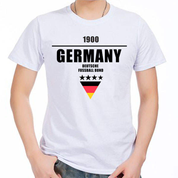 competitive price 4ed0a 843f1 Men's Short sleeve t-shirt Germany Deutschland Fussball Bund Marco Reus  Mesut Ozil Thomas Muller jersey Beckenbauer