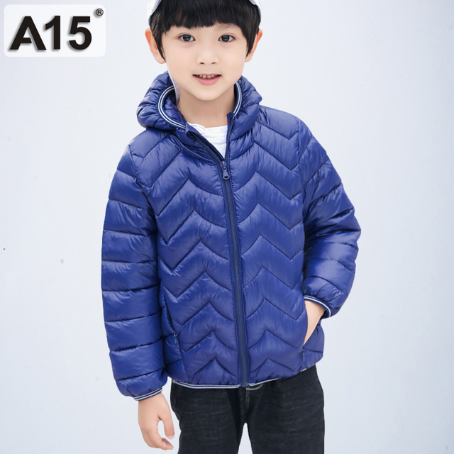 1ff7e3eceb33 Children Winter Jacket for Boys Kids Down Jacket Hooded Warm Girls ...