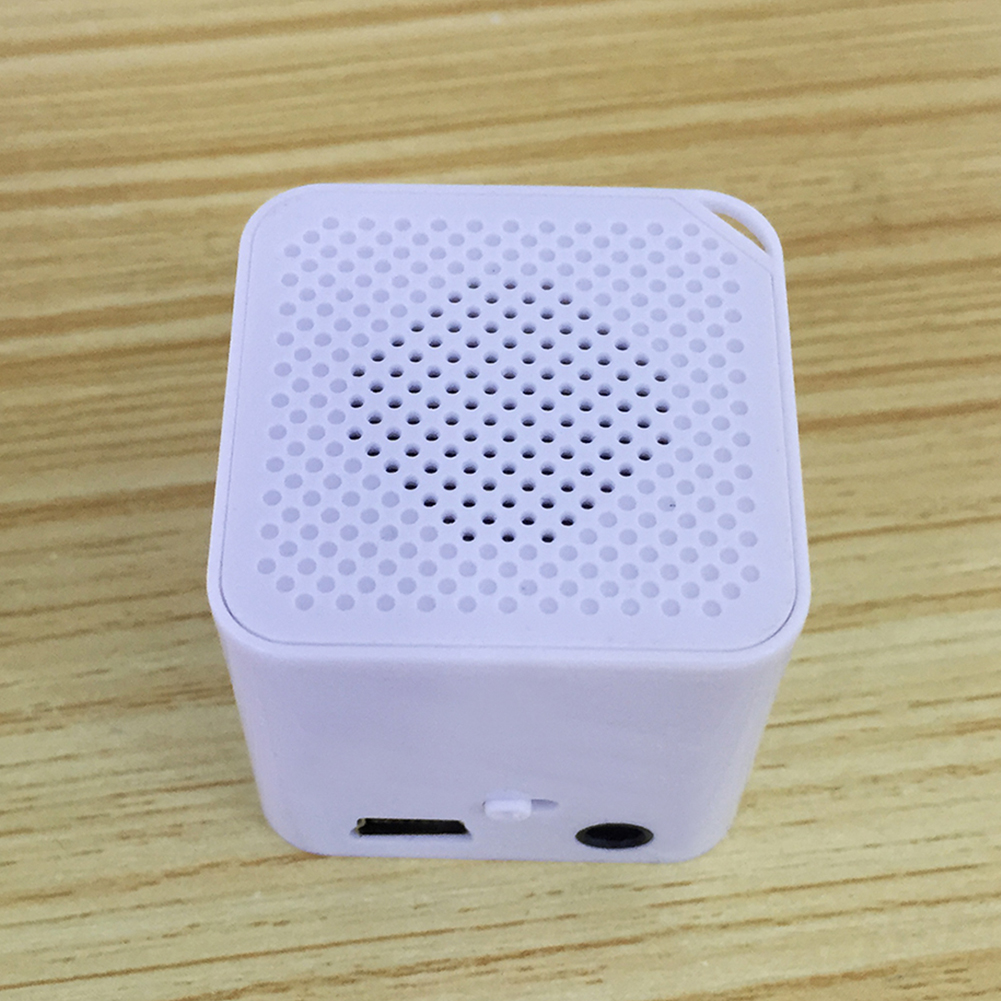 Fashion Portable Mini MP3 Music Player Support 16G  TF Card Speaker Campaign MP3 Music Player Built-in Speaker Hot~