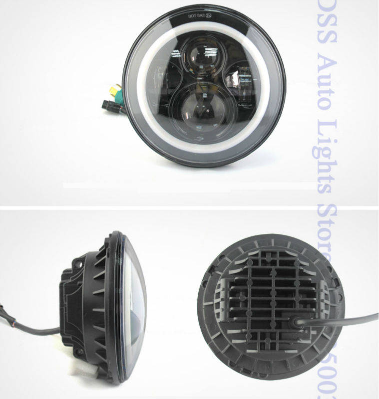 40w 7inch led headlight for jeep (2)