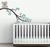 2015 Large 104cm Removable Koala Branch For Kids Vinyl Wall Paper Room Decal Art Sticker