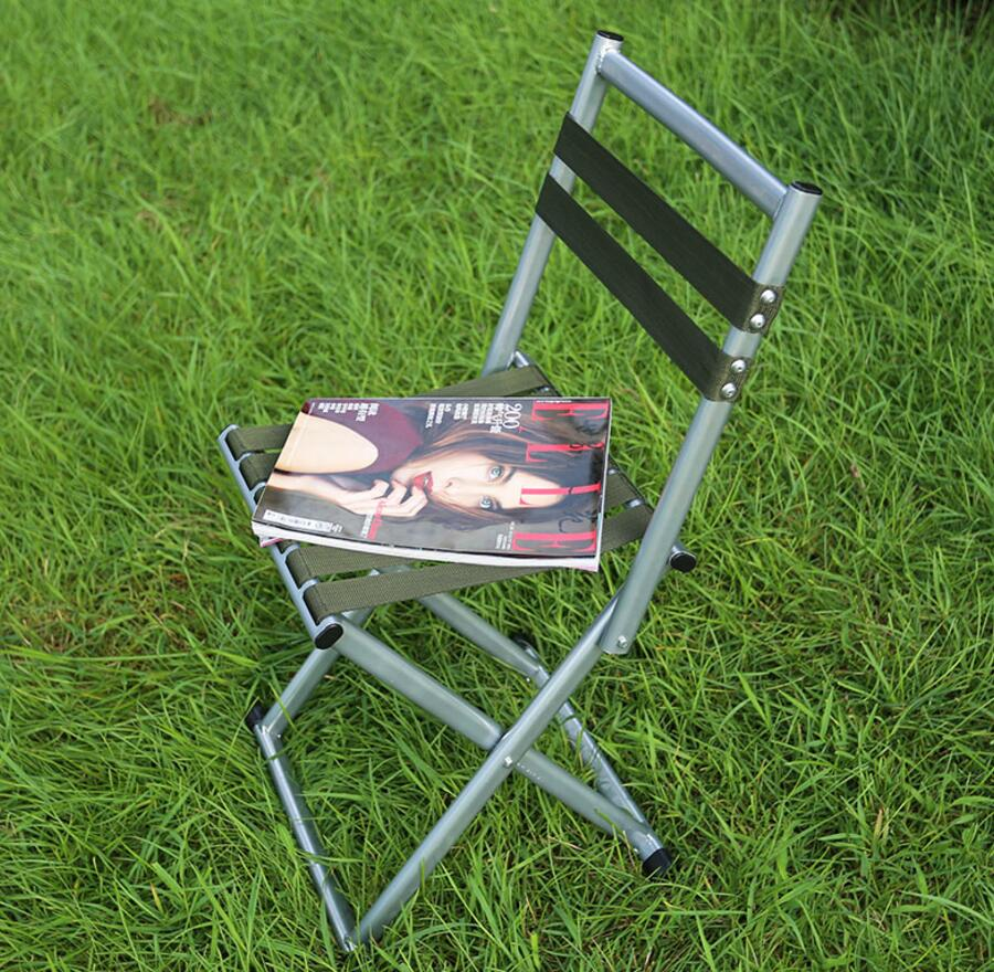 Furniture ... Outdoor Furniture ... 32773444307 ... 2 ... SUFEILE Folding stool  outdoor thickening backrest military fishing chair, portable bench outdoor camping barbecue necessary d5 ...