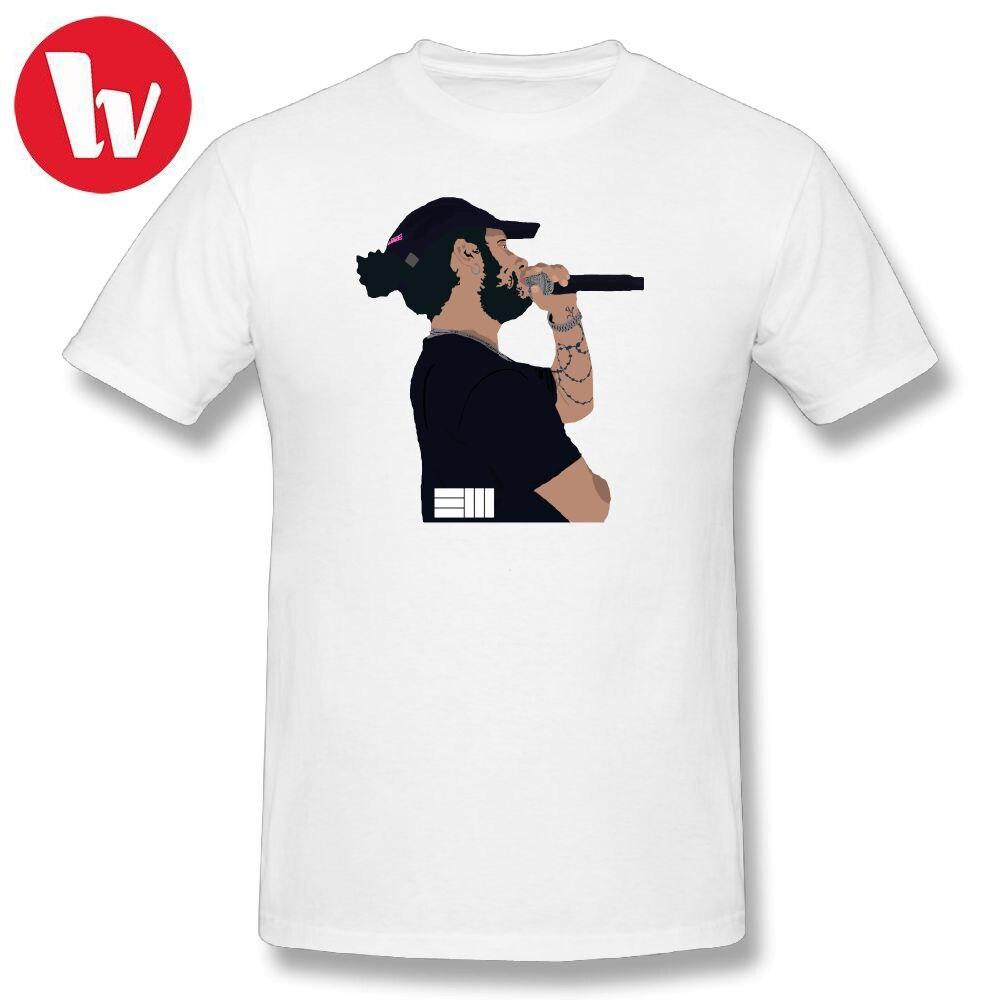 36a112301be Russ T-Shirt Men Cartoon Print Music Tee Shirt Funny T Shirts Summer Men s T  Shirt With Short Sleeves Cotton T-Shirts Graphic