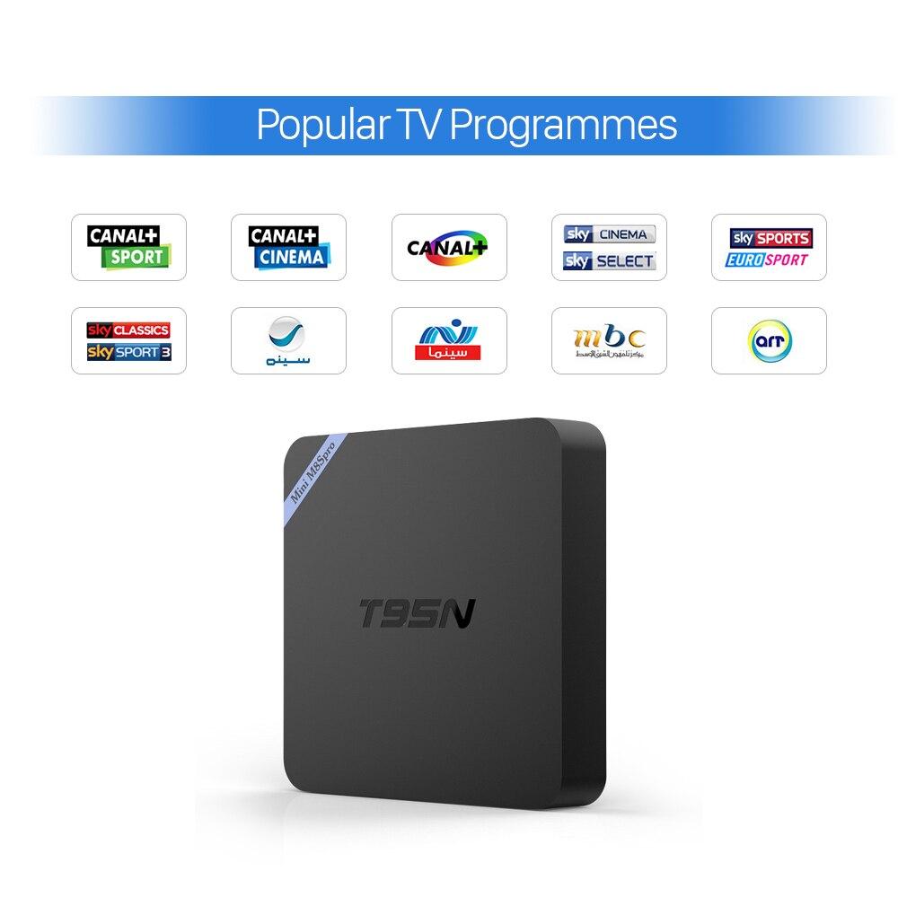 Gran Árabe IPTV Top Box 2 GB RAM Correr Más Rápido y de Alta Calidad europa Fran