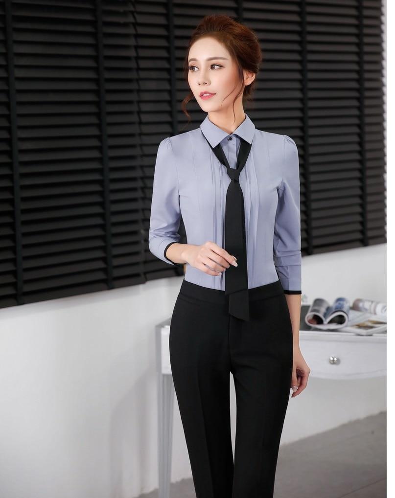 Online Get Cheap Office Uniform Shirts Tie -Aliexpress.com ...