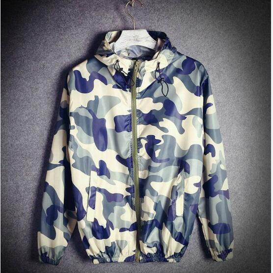 Sponge mice New brand Camouflage spring Jacket Men Casual Summer Women Men Military Jackets & Coats