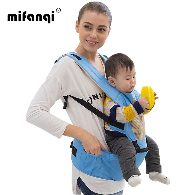 Ergonomic Baby Carrier 10-12 Months Baby Sling Stretchy Wrap Carrier 9kg Front Facing 360 Baby Carrier Solid Baby Carrier Coat