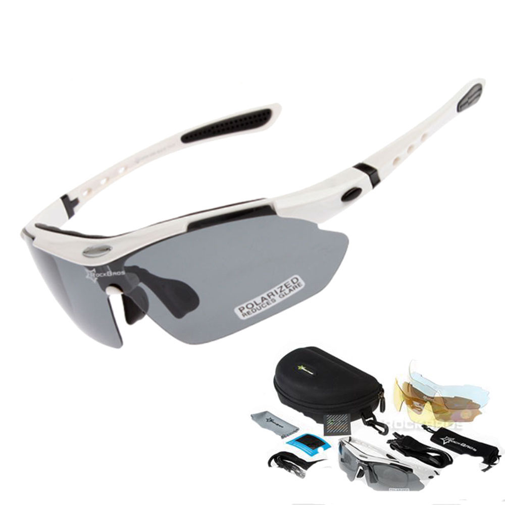 New Polarized Cycling Sun Glasses Outdoor Sports Bicycle Glasses