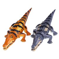 Kids Soft Action Figures Toy Jurassic Crocodile Animals Toys Collection Model Animal Collection Model Toy