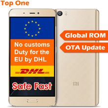 "Original xiaomi mi5 m5 teléfono móvil snapdragon 820 5.15 ""1920x1080 OIS 16MP Cámara de Huellas Dactilares ID NFC FDD LTE de Carga Rápida"