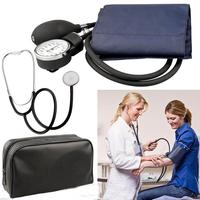 MARNUR Adult Arm BP Cuff Blood Pressure Monitor Kit With Matching Seperate Stethoscope Aneroid Sphygmomanometer Measure