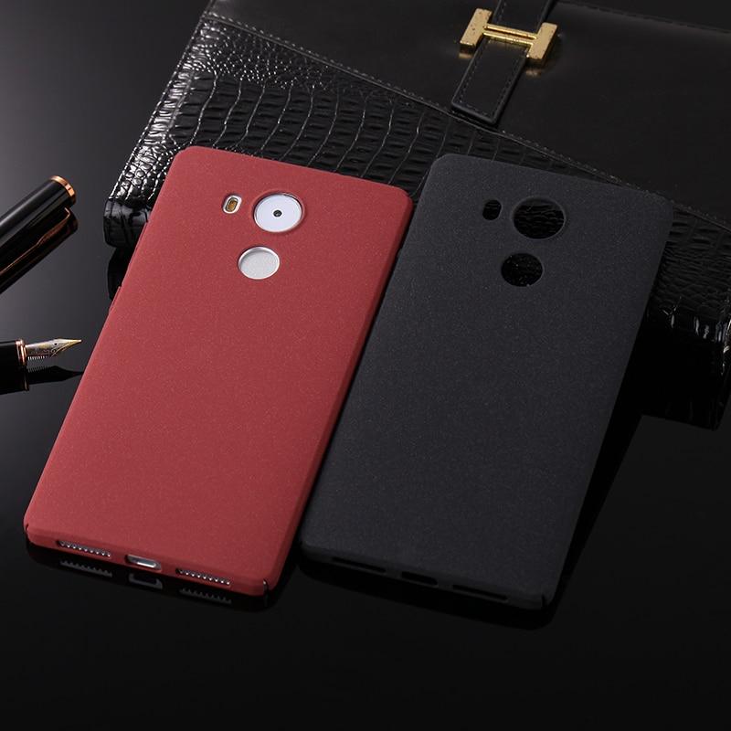 Hard Plastic Case For Huawei Mate 7 8 9 Pro 10 Lite Shockproof Couqe Matte Rock Sand Granule Cover Funda For Huawei P Smart Case