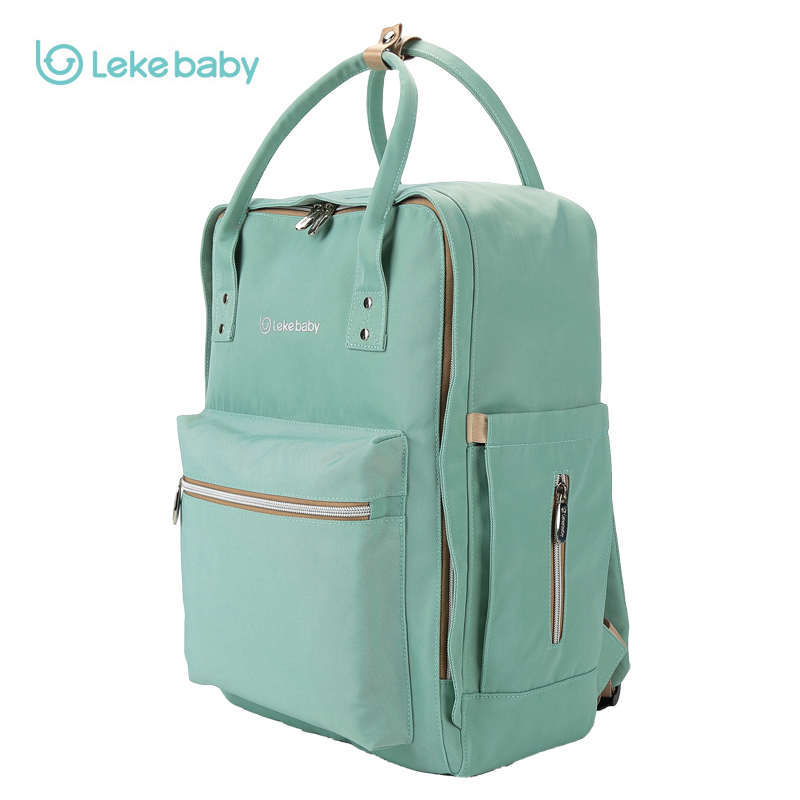 2018 Lekebaby baby diaper bag nappy maternity bag travel backpack Large Capacity for mom organizer stroller bag for Baby Care mommy bag for baby care cartoon pattern maternity bag for cart large capacity travel backpack mom nappy diaper bag for stroller