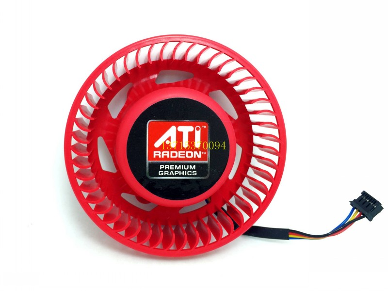 Free shiping BASA0725R2U ATI worm gear fans for HD 5850 HD 6870 HD 6950 HD6970 graphics card cooling flying elephant water cooled dedicated ati graphics card gpu waterblock 6850 6950 6970 7850 7870 r270x r280x