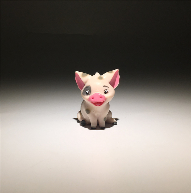 24pieces 3.5cm pig PVC Action figure toys Adorable Collectible Model For Children Gift