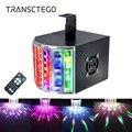 18 Вт светодиодный лазерный диско-светильник DMX 512 DJ RGB вечерние лампы звук активированный диско-лампа движущаяся голова проектор стробоскоп ...