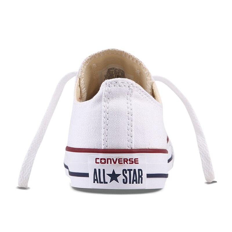 Converse All Star Unisexe chaussures pour skateboard Hommes Sports de Plein Air décontracté toile classique Femmes Anti-Glissante Sneakers Low Top Chaussures - 4