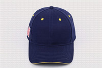 Custom baseball cap 100% cotton customized logo embroidery casual solid hats blue color cap Snapback adjust male female