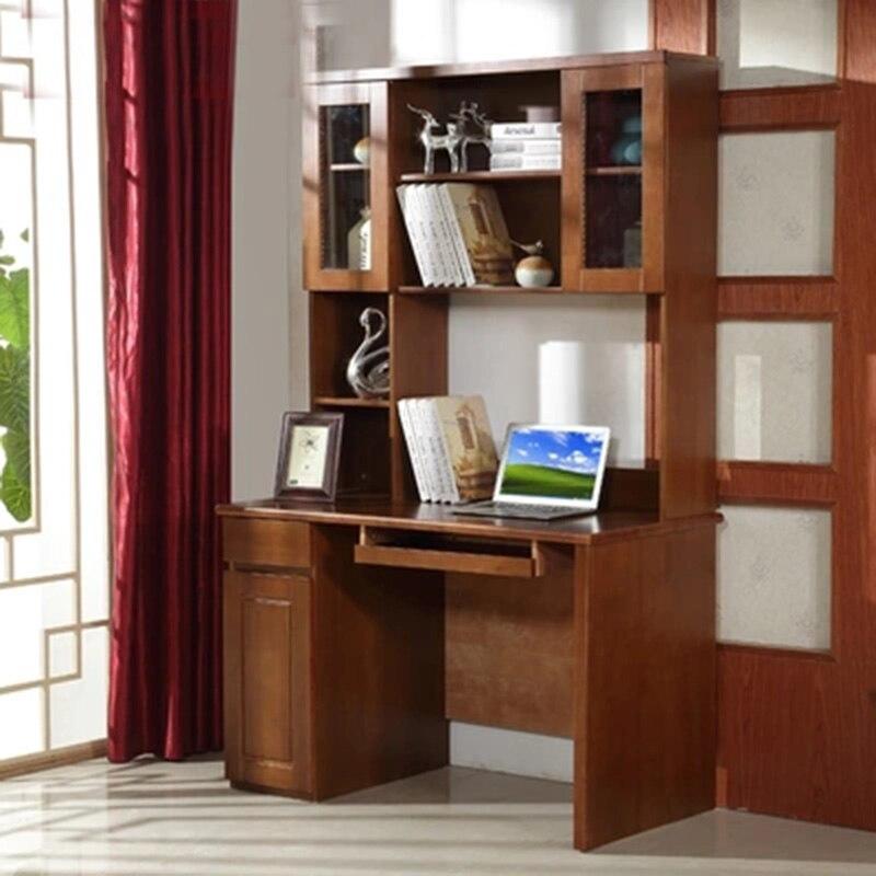 Mobilier moderne Simple en bois massif ordinateur bureau bureau maison