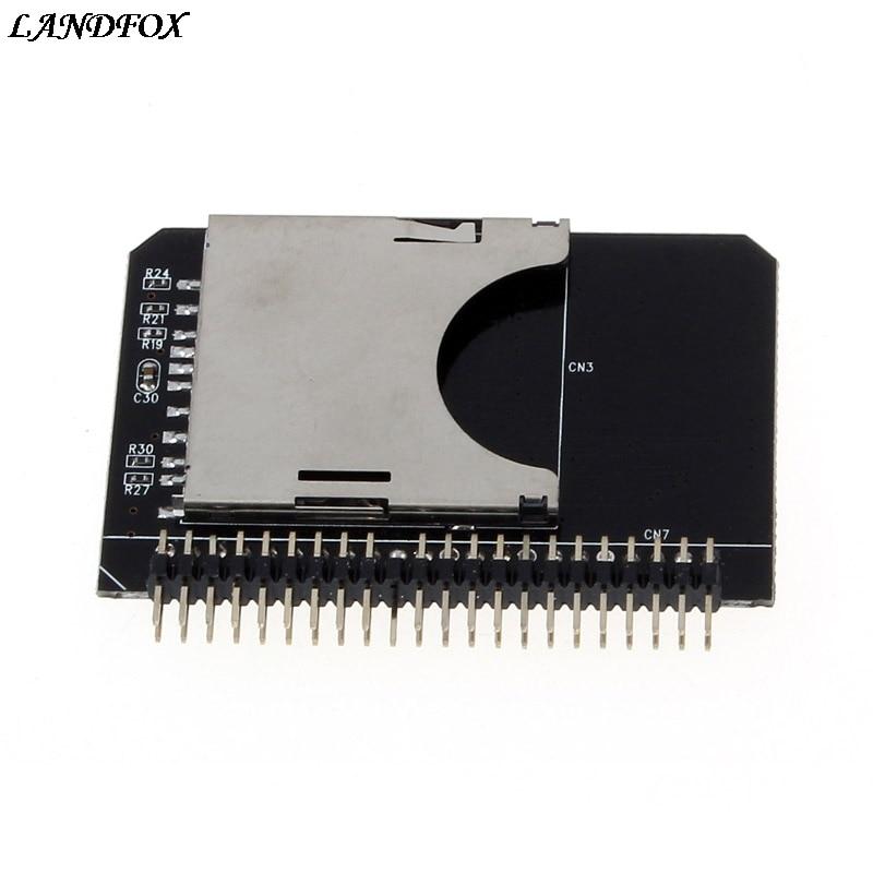 SD SDXC MMC Speicherkarte zu IDE 2,5 Zoll 44Pin Stecker Adapter