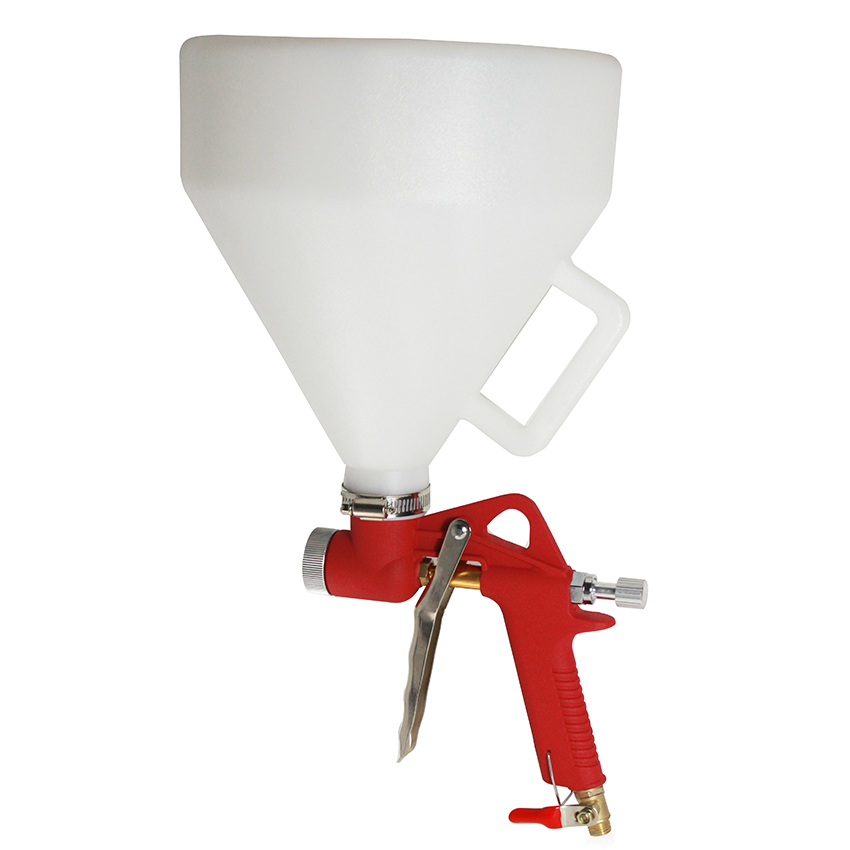 High Quality 5L Pneumatic Hopper Spray Gun Air Paint Gun Spraying Equipment Wall Painting Gun bosch 1605510281