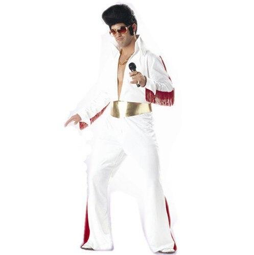 classic elvis costumes super star celebrity party costume halloween