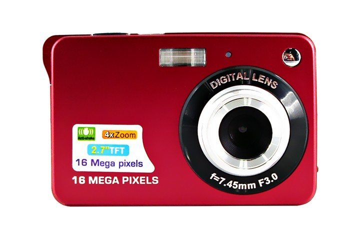 karue Newest 18Mp Max 3Mp CMOS Sensor Digital Cameras with 8x Digital Zoom and Rechareable Lithium