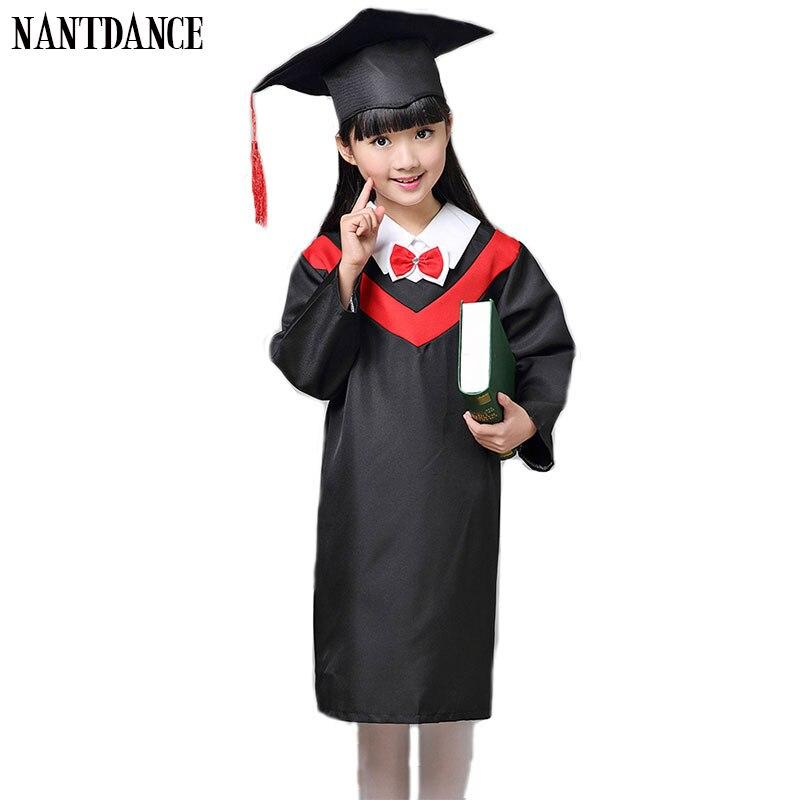 Children Academic Clothing Doctor School Uniforms Kid Graduation Student Costumes Kindergarten Graduated Girl Boy Dr Suit Suits