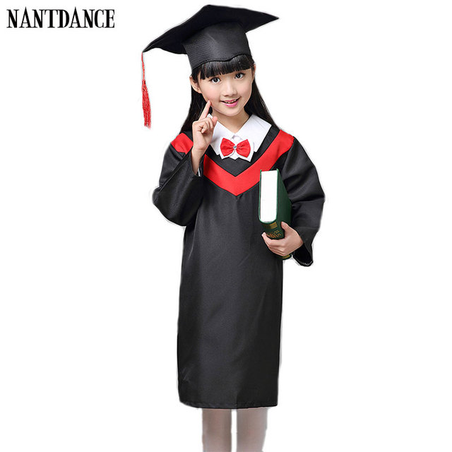 5f0cf9b4989 Children Academic Clothing Doctor School Uniforms Kid Graduation Student  Costumes Kindergarten Graduated Girl Boy Dr Suit