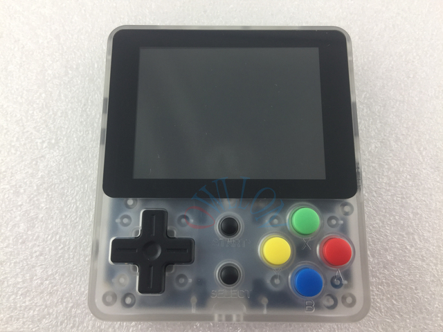 retro handheld LDK game console screen 2.6 inch built-in 400 game mini handheld game console nostalgic children console mini