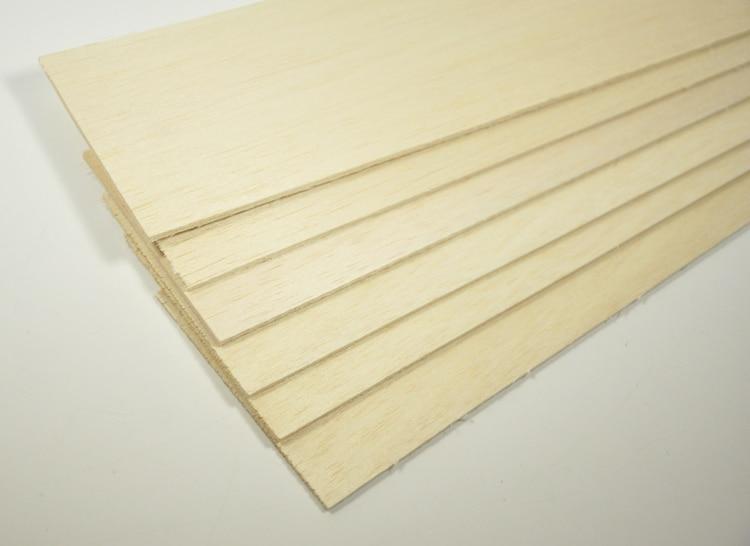 10 Sheets BALSA WOOD 600x100x3mm HIGH QUALITY Balsa Wood For font b Model b font font