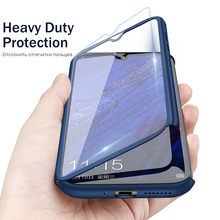360 Luxury Full Cover Case For Huawei P9 P10 P20 Lite Plus Case Glass For Huawei P20 Mate 20 Lite Pro Phone Case Huawei P Smart(China)