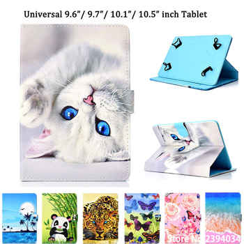 Universal Case for 9.6 9.7 10 10.1 10.5 Inch Tablet Cover for iPad Pro Air 2018 Samsung Huawei PU Leather Stand Funda Shell - DISCOUNT ITEM  30% OFF All Category