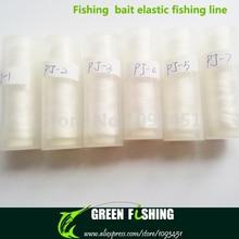 Free shipping 10pcs/lot PJ-3 0.20mm 200m Bait Elastic Invisible fishing bait fishing line