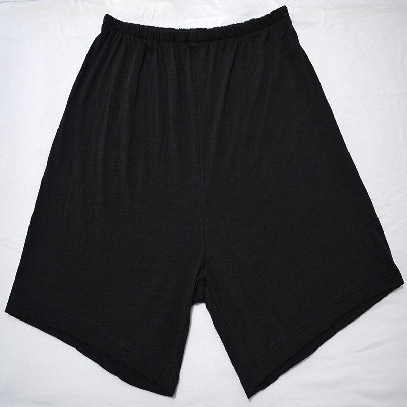 Cotton Sleep Shorts Men Summer Loose Pajamas Shorts Sleep Shorts Nightwear Sleep Pants Men Pajamas Pants Loose Men At-home Pants